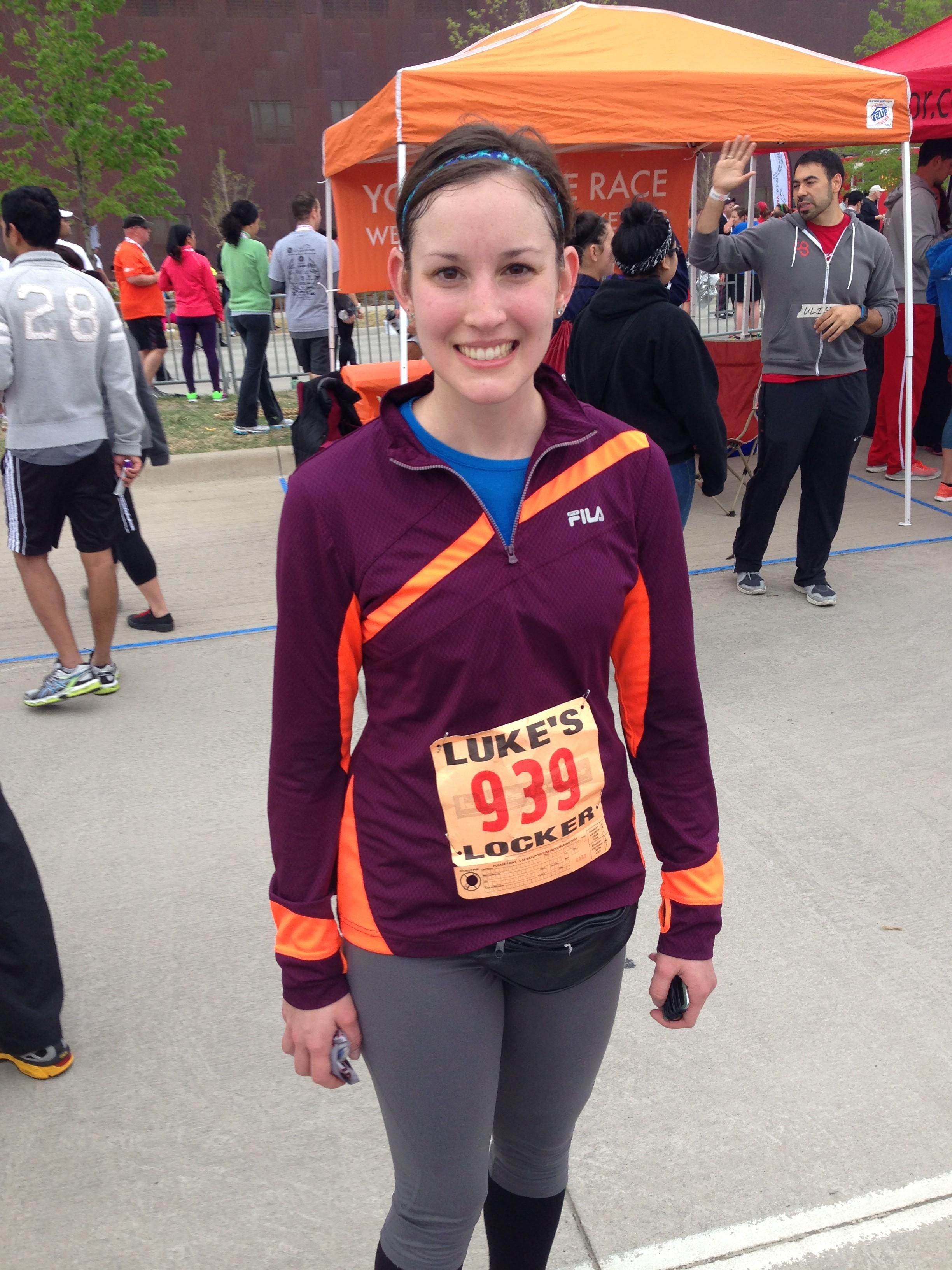 Irving Marathon finish